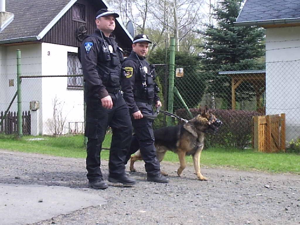 Městská policie v Horním Jřetíně